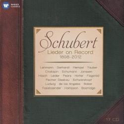SCHUBERT - LIEDER ON RECORD...