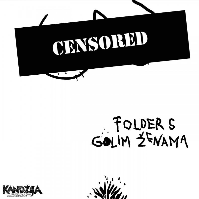 KANĐIJA - FOLDER SA GOLIM ŽENAMA